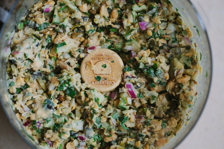 Summery White Bean 'Tuna' Sandwich - Golubka Kitchen
