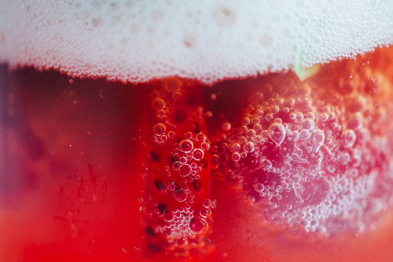 Berry Kombucha Float - Golubka Kitchen