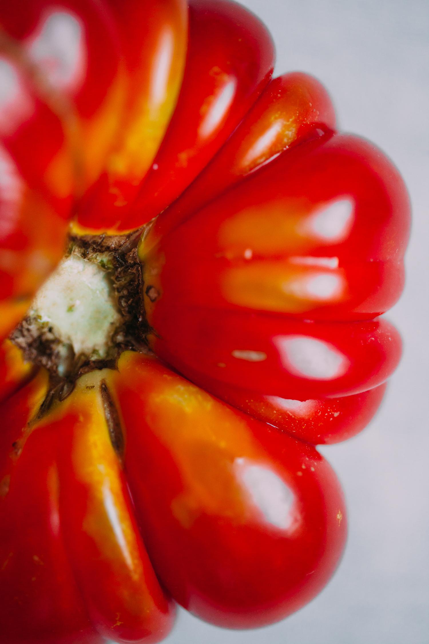 Red Lentil Gazpacho - Golubka Kitchen