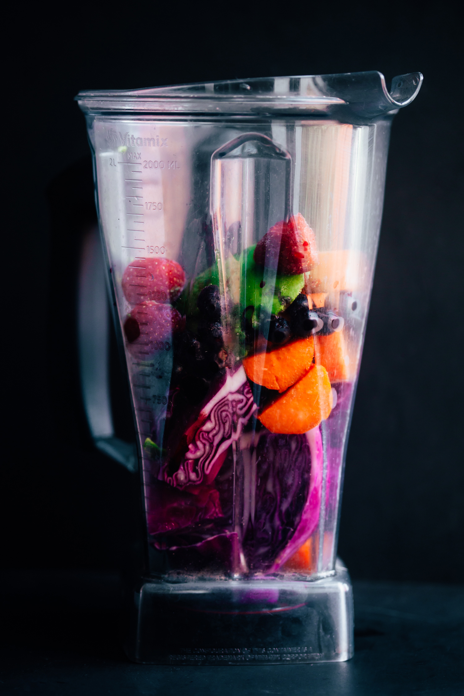 Red Cabbage and Sweet Potato Smoothie - Golubka Kitchen