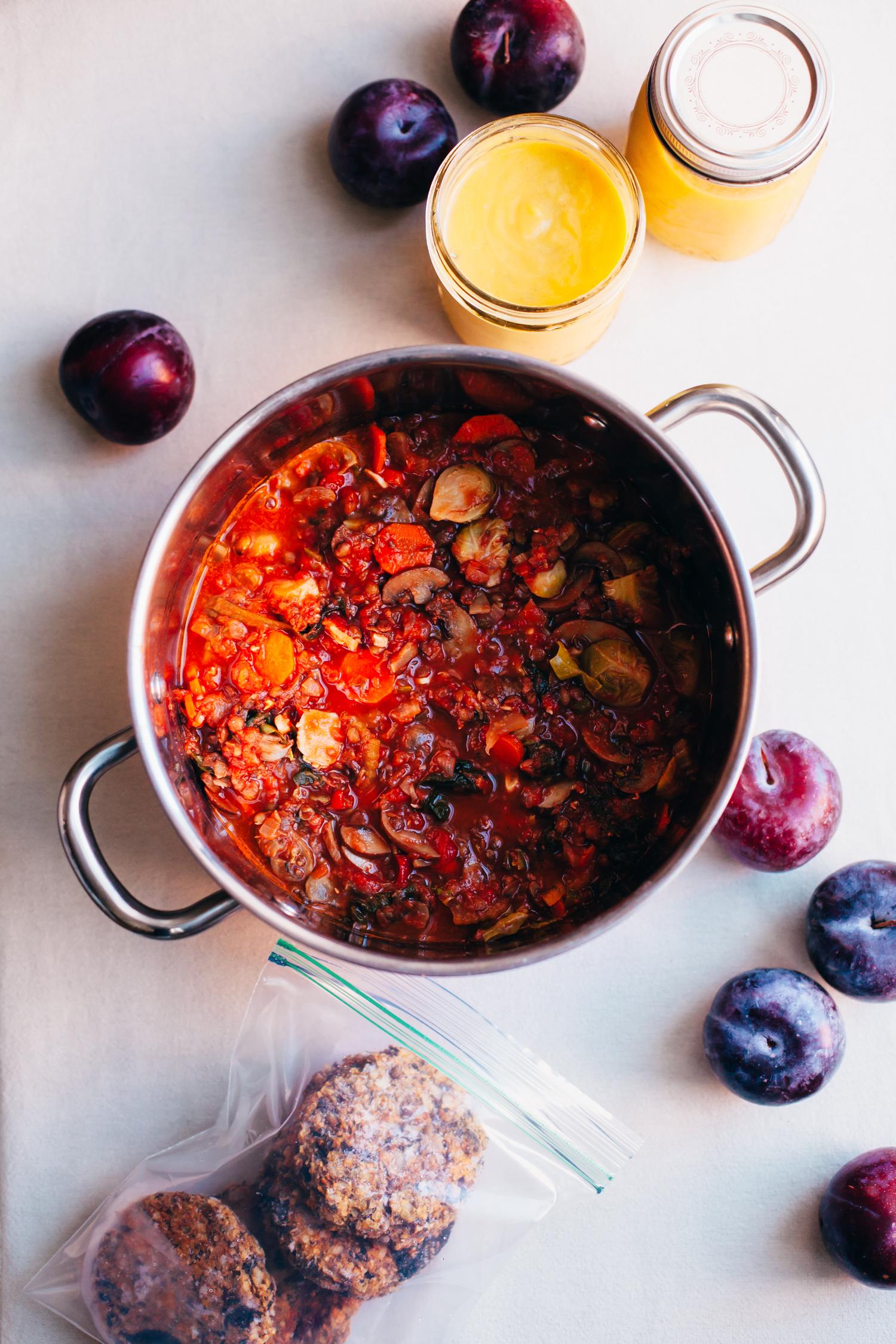 Plant-Based Fall Meal Plan, Part 2 - Golubka Kitchen