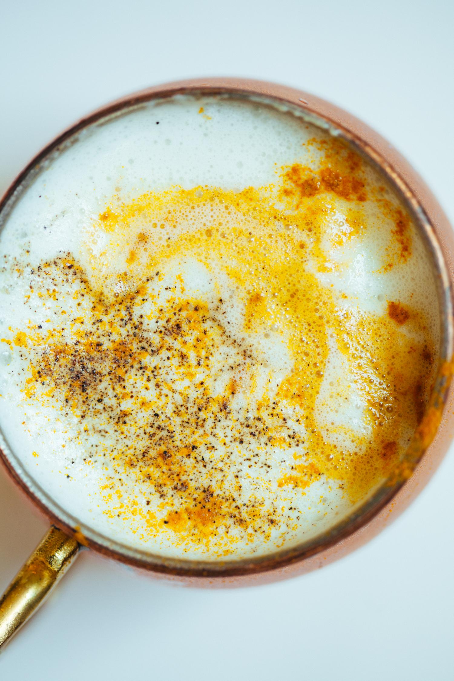 Honey Miso Latte - Golubka Kitchen