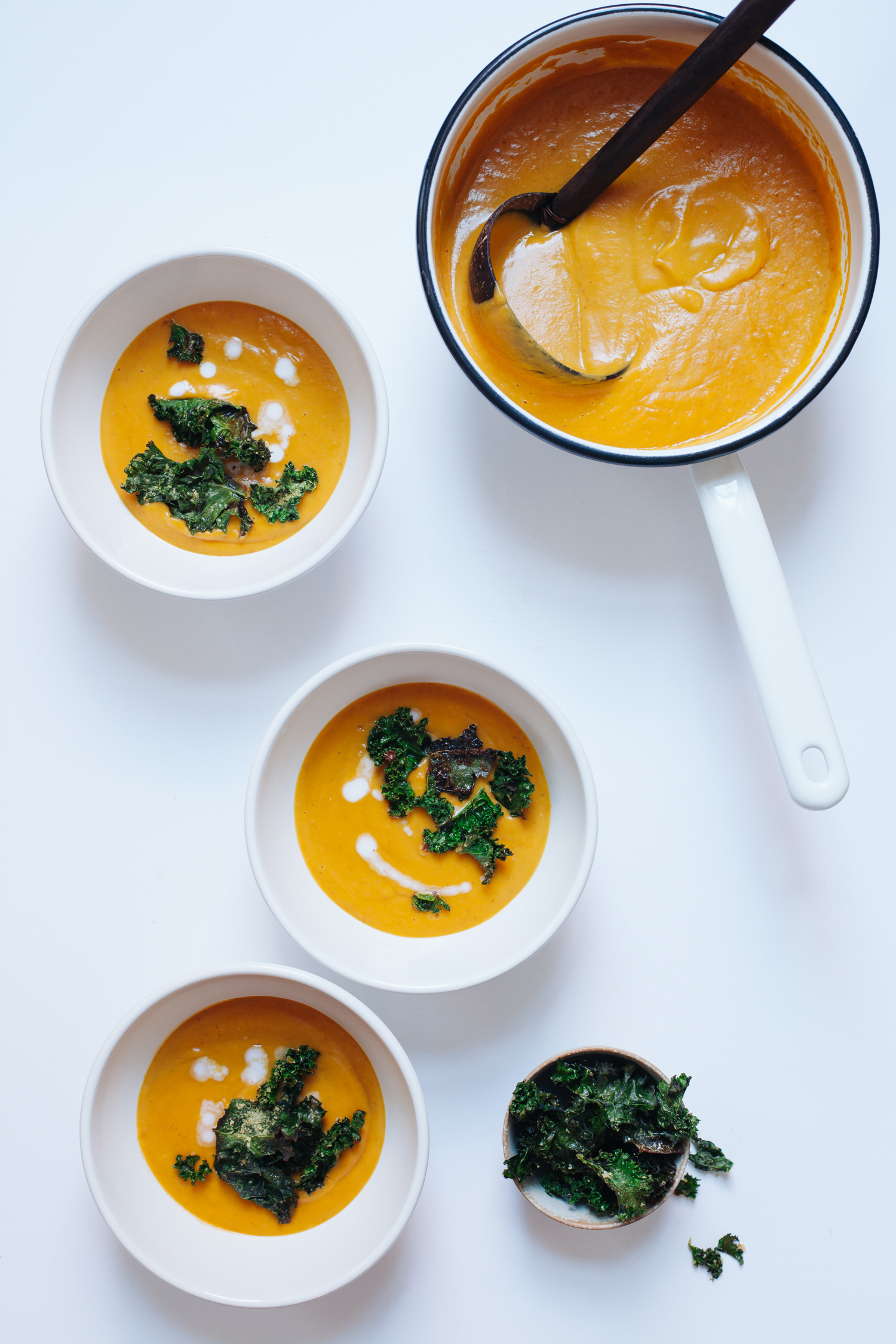 Creamy Butternut Squash, Pear and Cranberry Soup - Golubka Kitchen