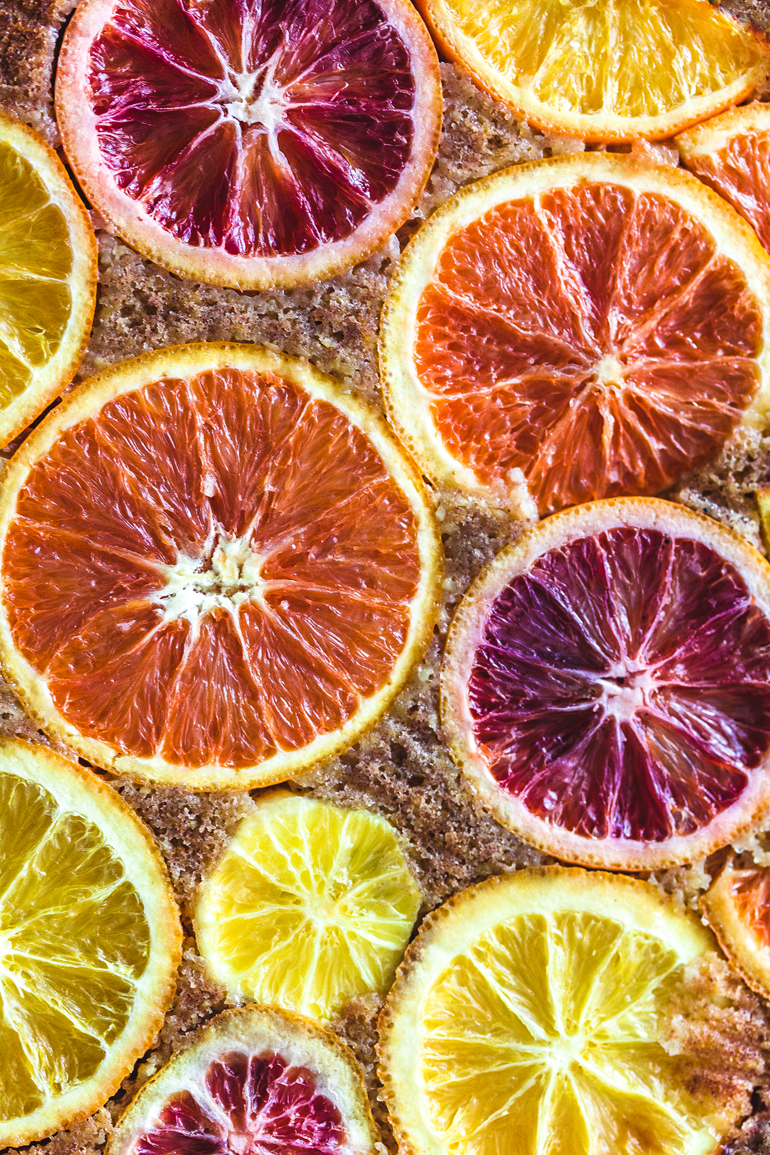 Upside Down Orange Polenta Cake, Vegan & GF - Golubka Kitchen