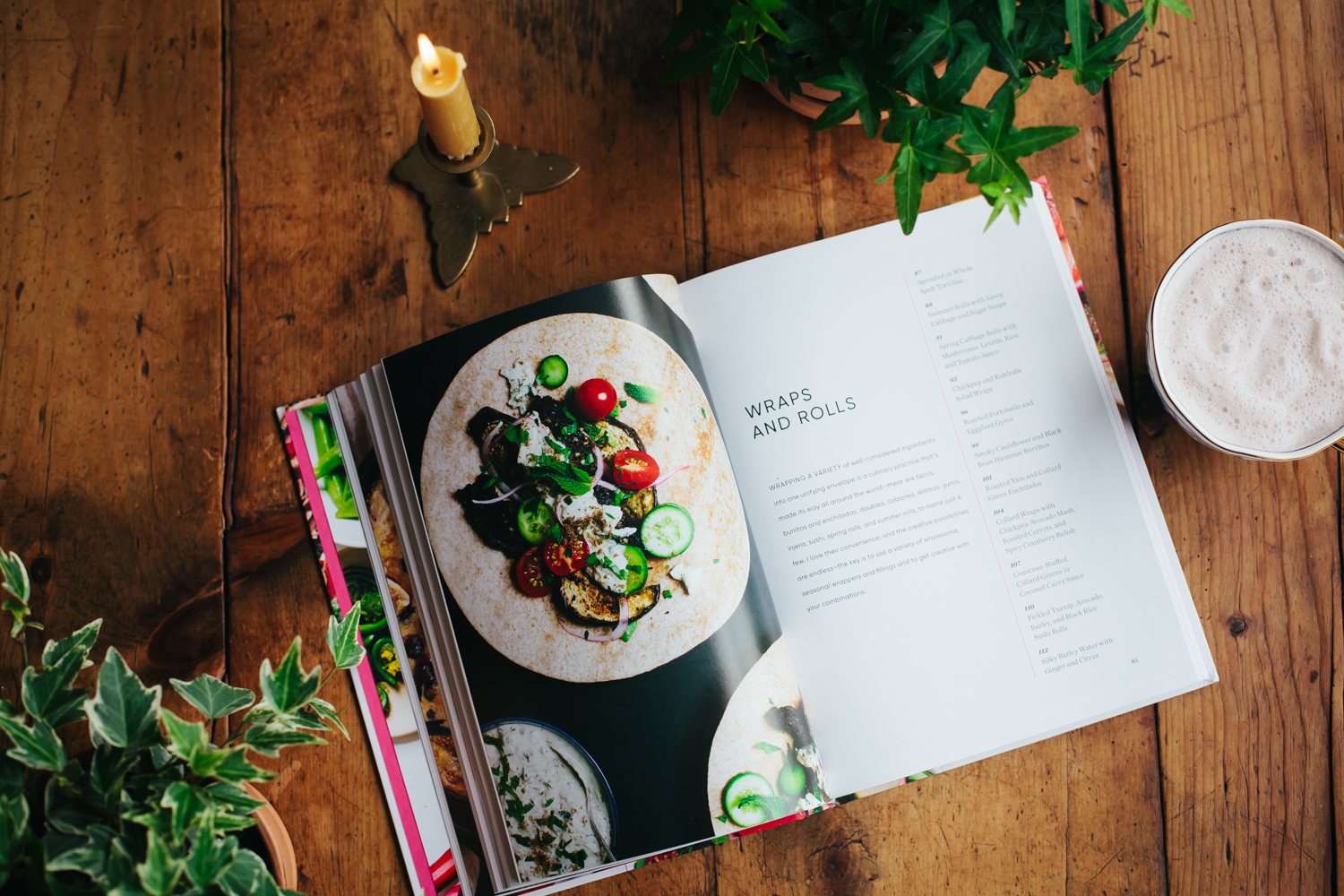 Simply Vibrant, a new cookbook by Anya Kassoff and Masha Davydova