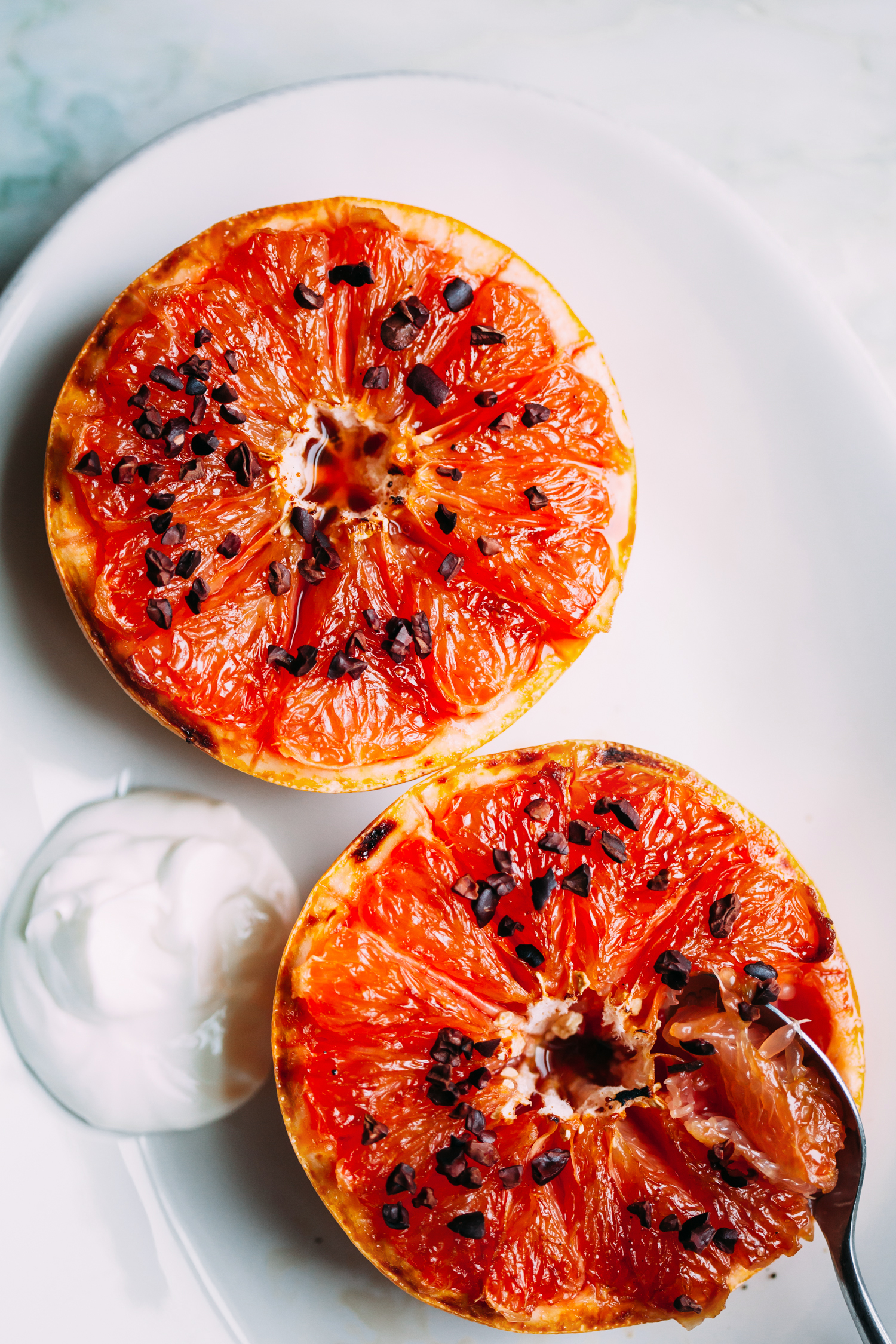 Broiled Grapefruit - Golubka Kitchen