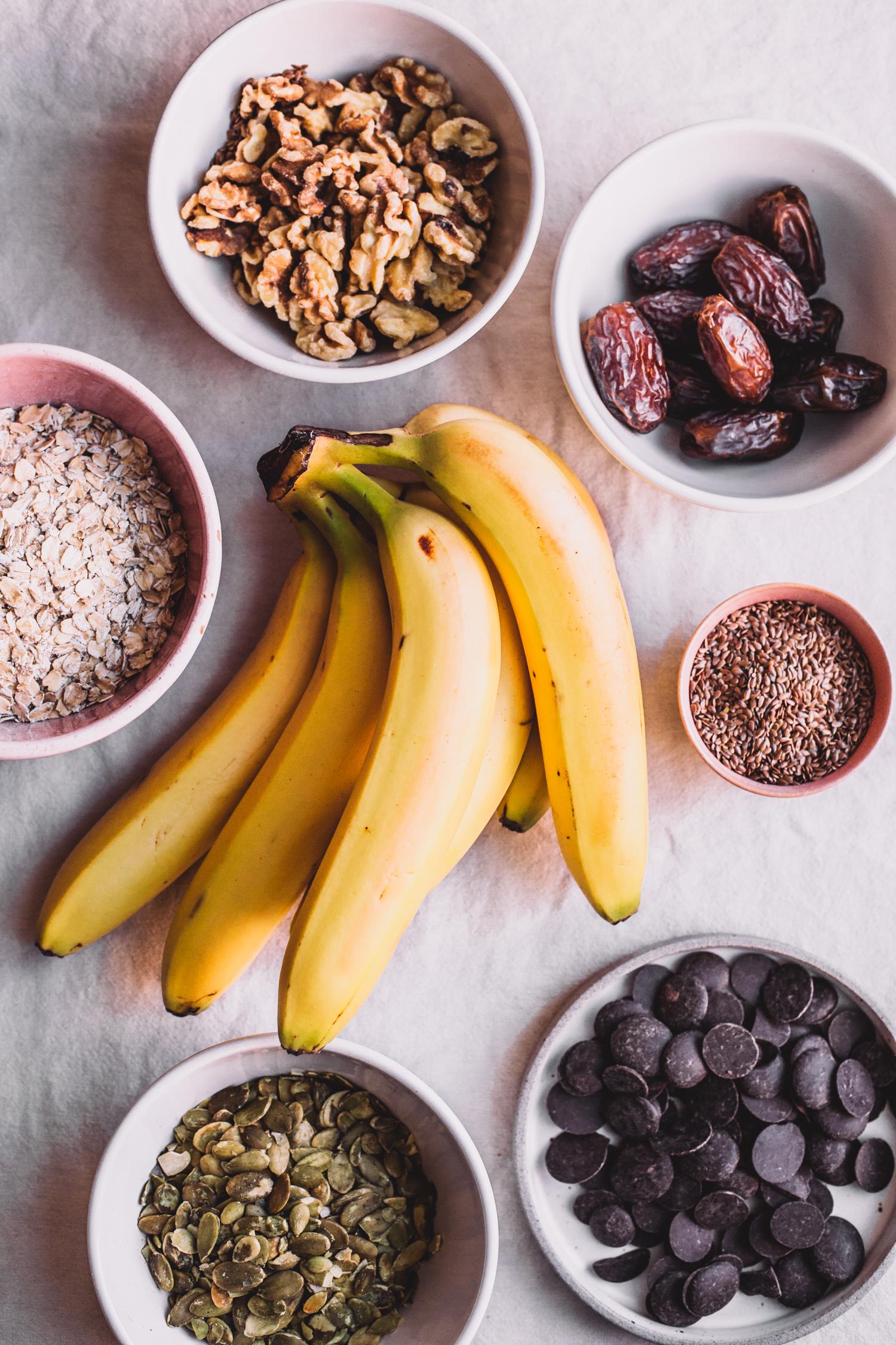 Chunky Monkey Cookies, Vegan and Gluten-Free - Golubka Kitchen