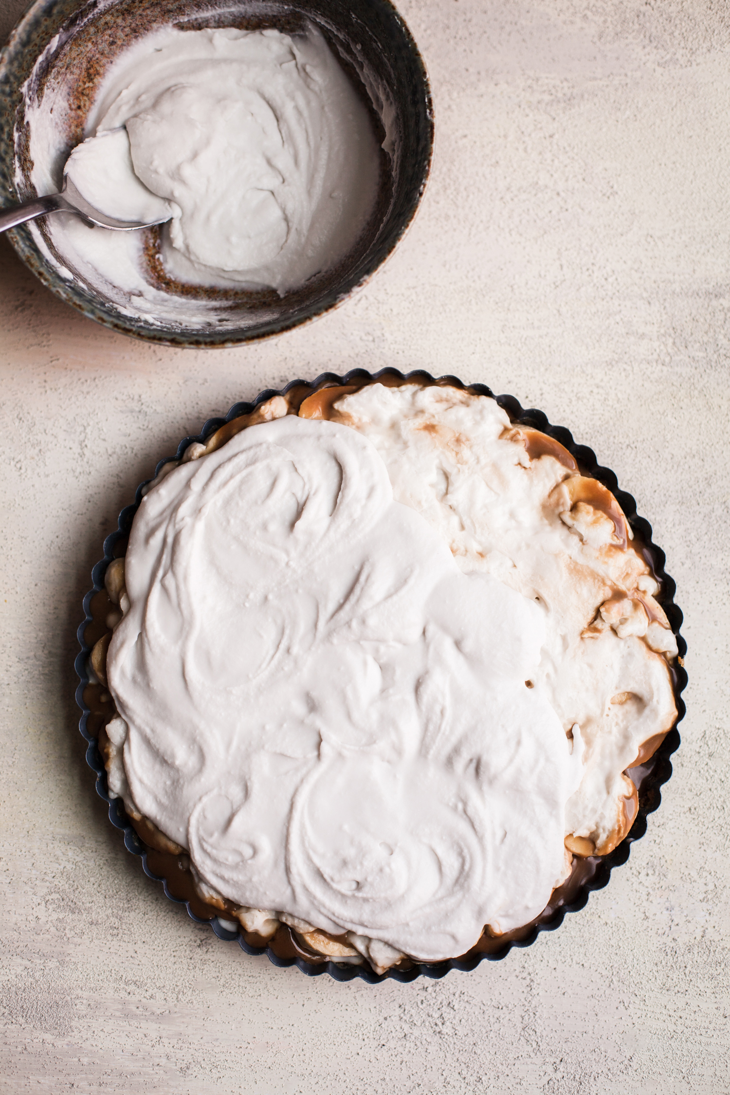 Salted Caramel Banana Cream Tart from Alternative Baker - Golubka Kitchen