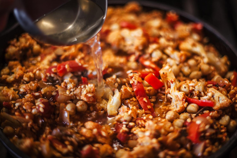 Veggie Supreme Paella From Pretty Simple Cooking - Golubka Kitchen
