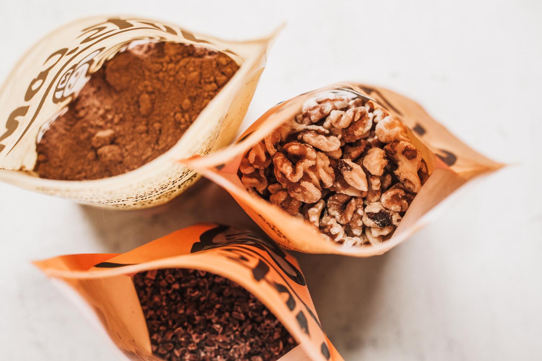 Super Decadent Vegan Chocolate Walnut Spread - Golubka Kitchen