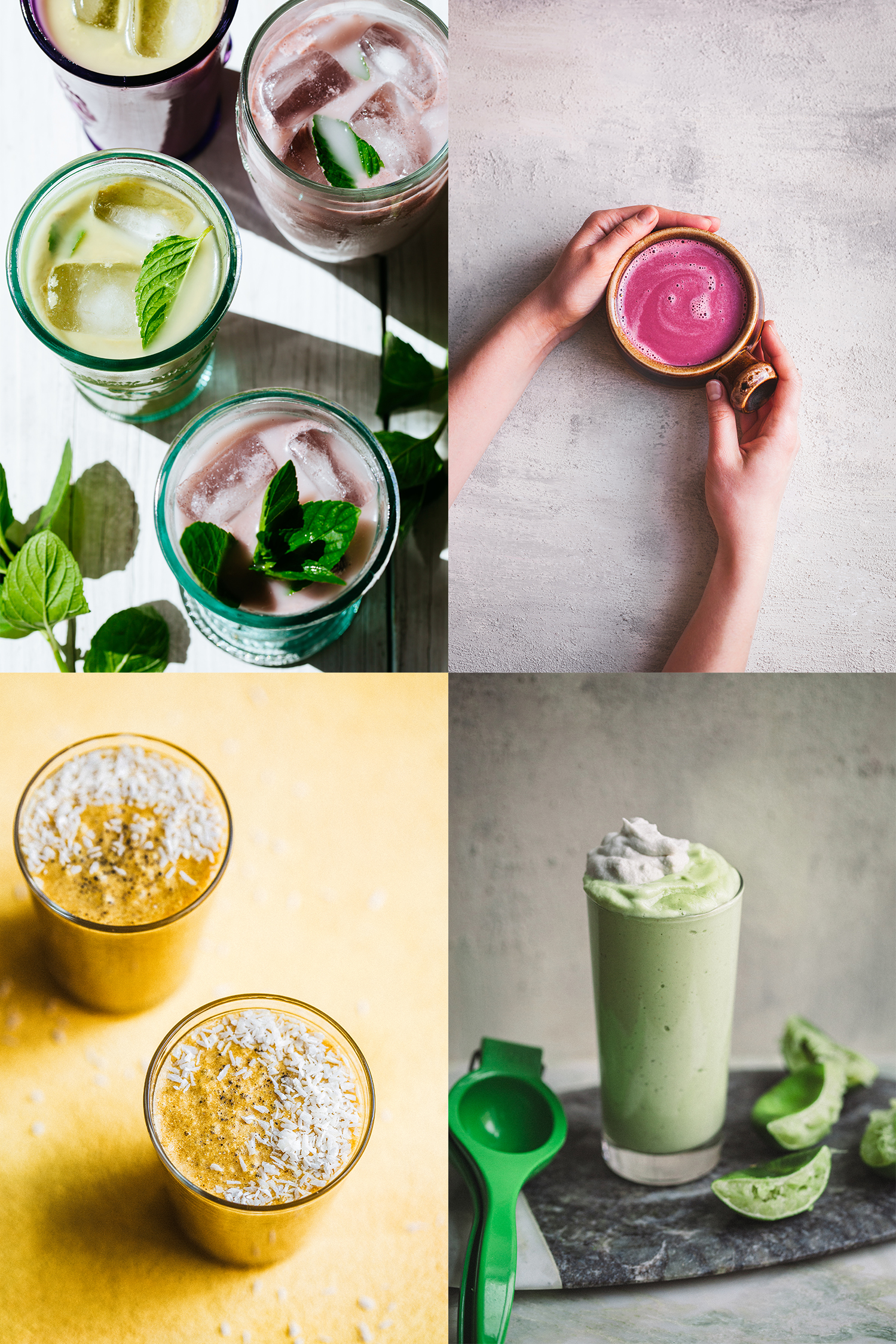 Free Ebook! Simply Vibrant Drinks - Golubka Kitchen