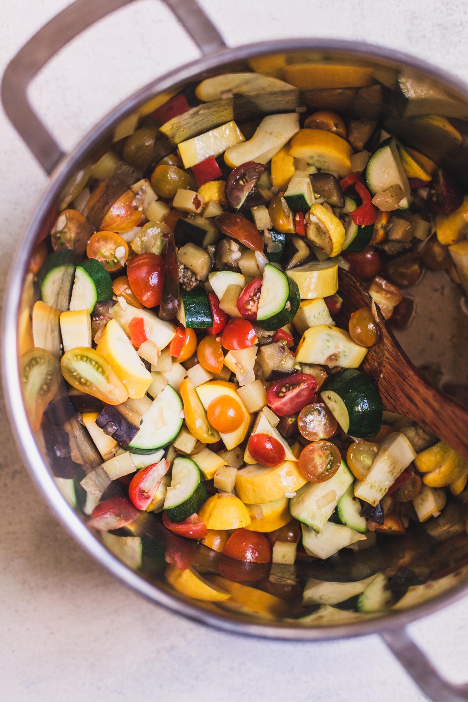 Ciabotta - Easy Summer Vegetable Stew from Abruzzo | Golubka Kitchen