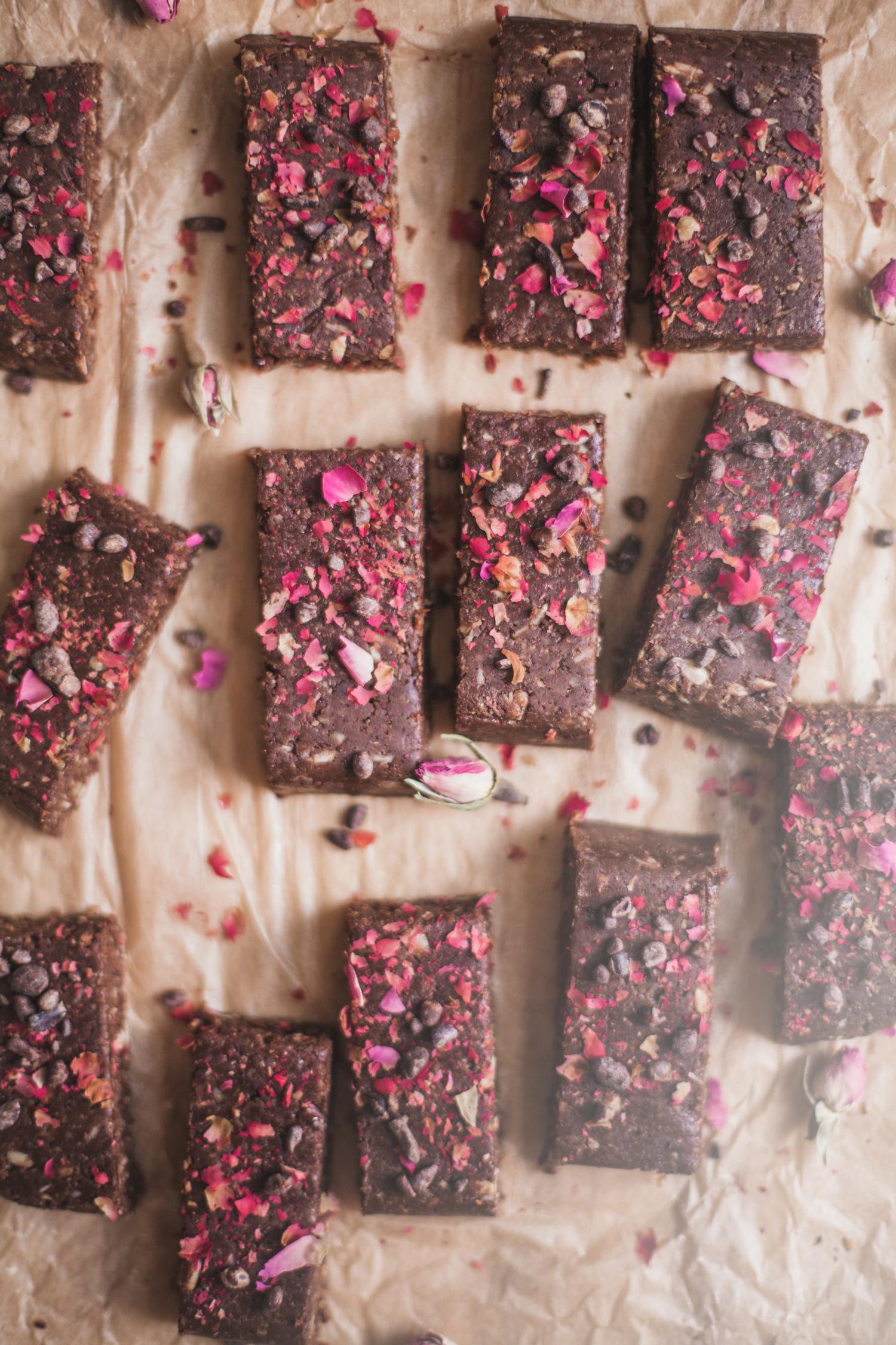 Nutty Chocolate Hormone-Balancing Bars from The Thirlby - Golubka Kitchen