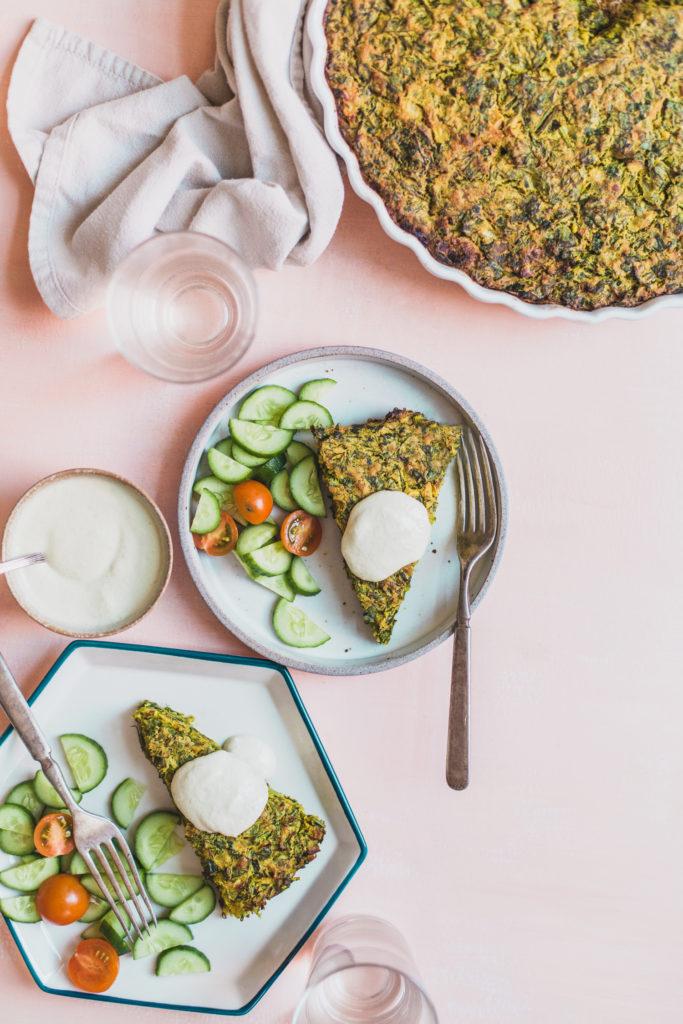 Vegan Herb Frittata (Kuku Sabzi)