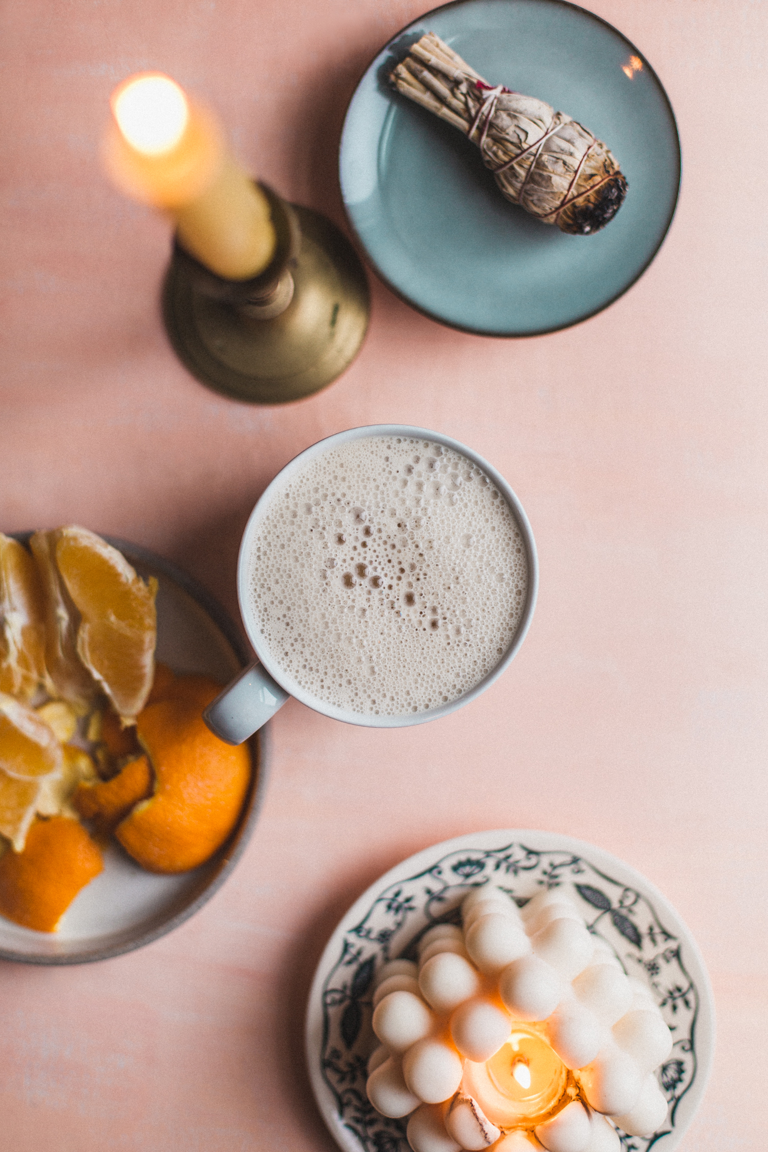 Orange Chai Latte - Golubka Kitchen