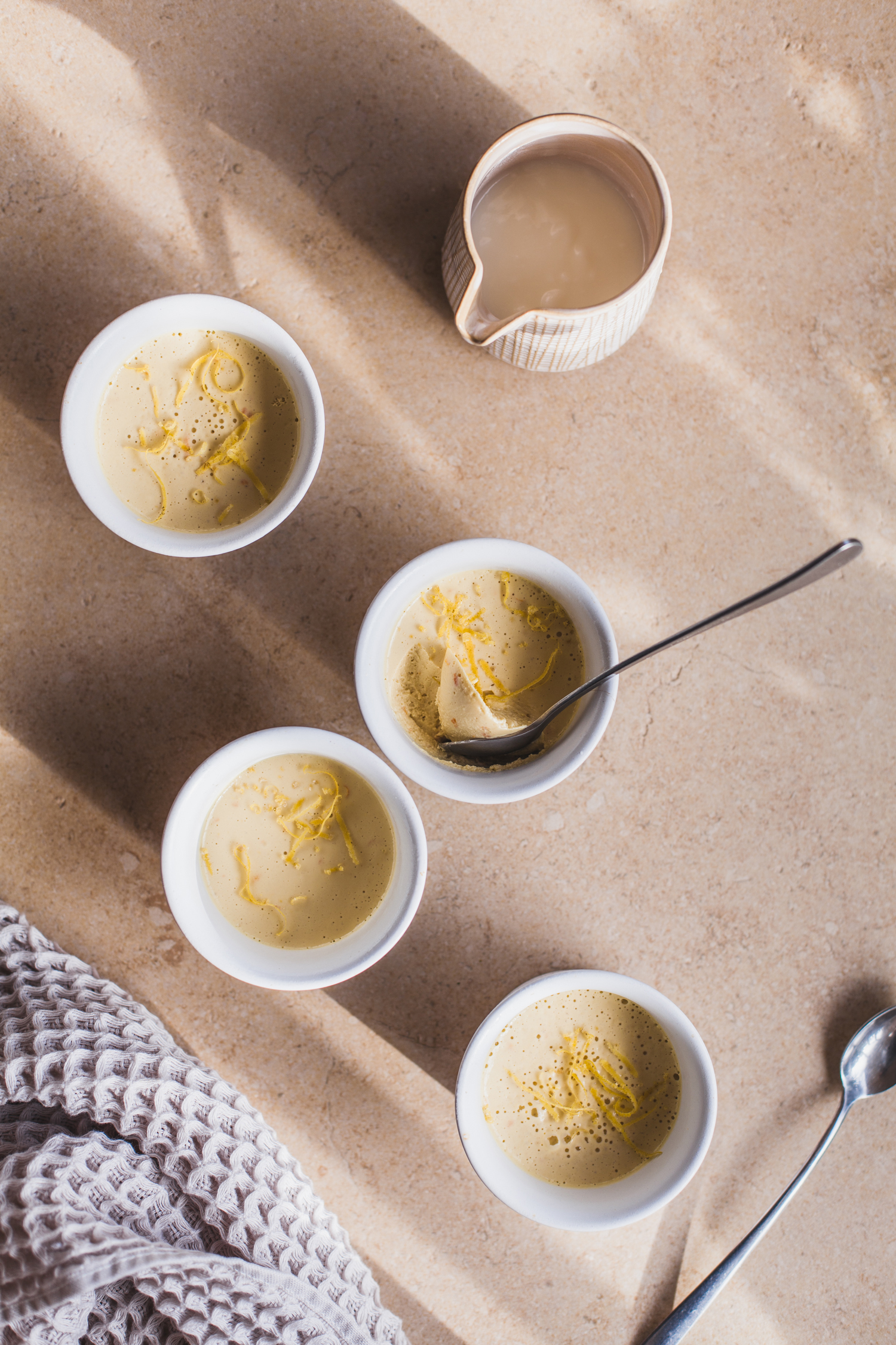 Orange-Tahini Mousse - Golubka Kitchen