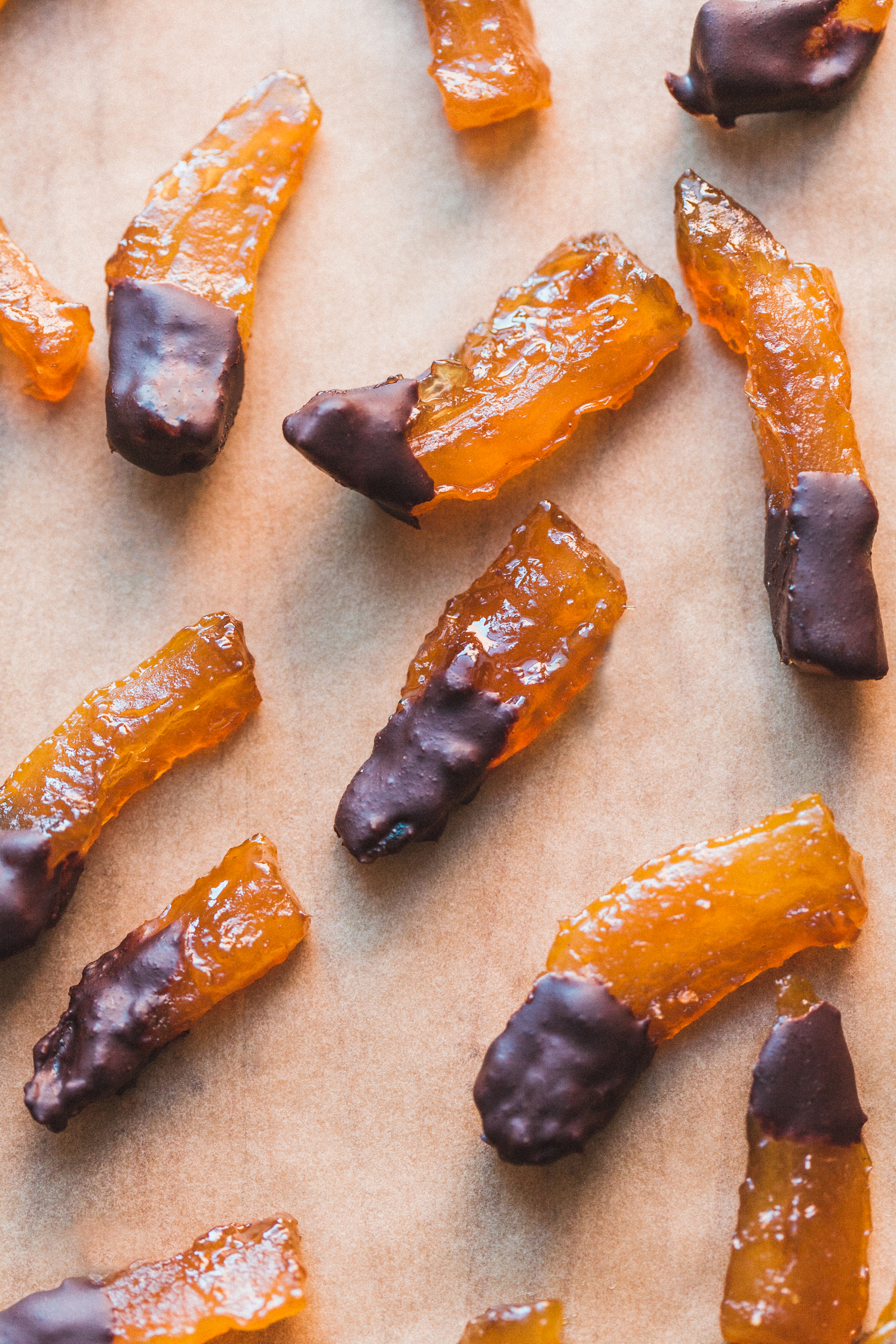 Candied Chocolate Dipped Citron + Video - Golubka Kitchen