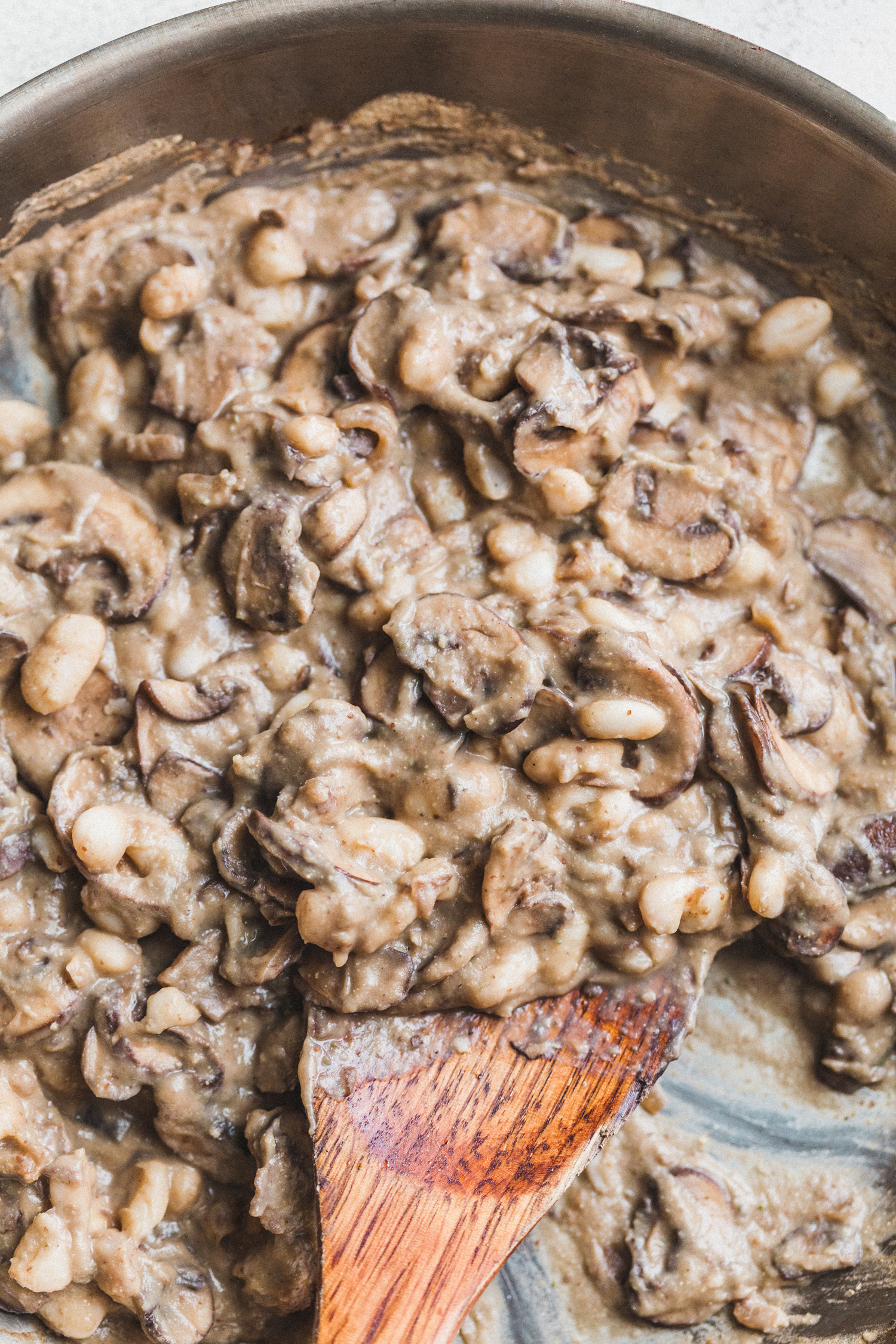 Glazed Tempeh Steaks with Rosemary Mushroom Gravy - Golubka Kitchen