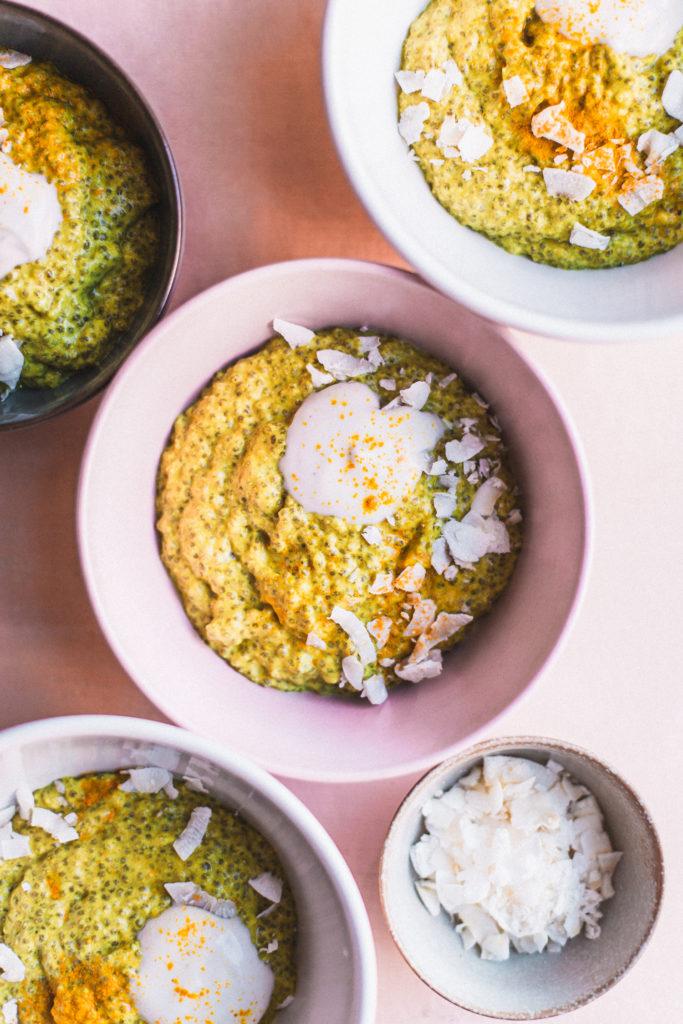 Mango Lassi Chia Pudding + Giveaway