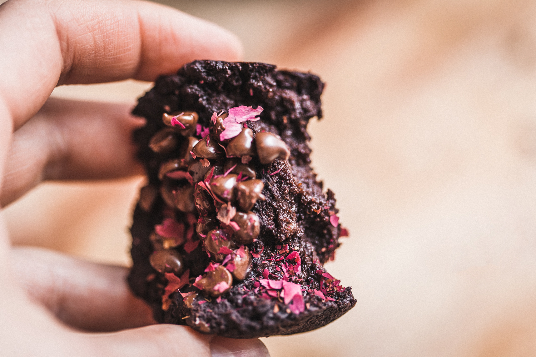 Fudgy Sweet Potato Brownies - Golubka Kitchen