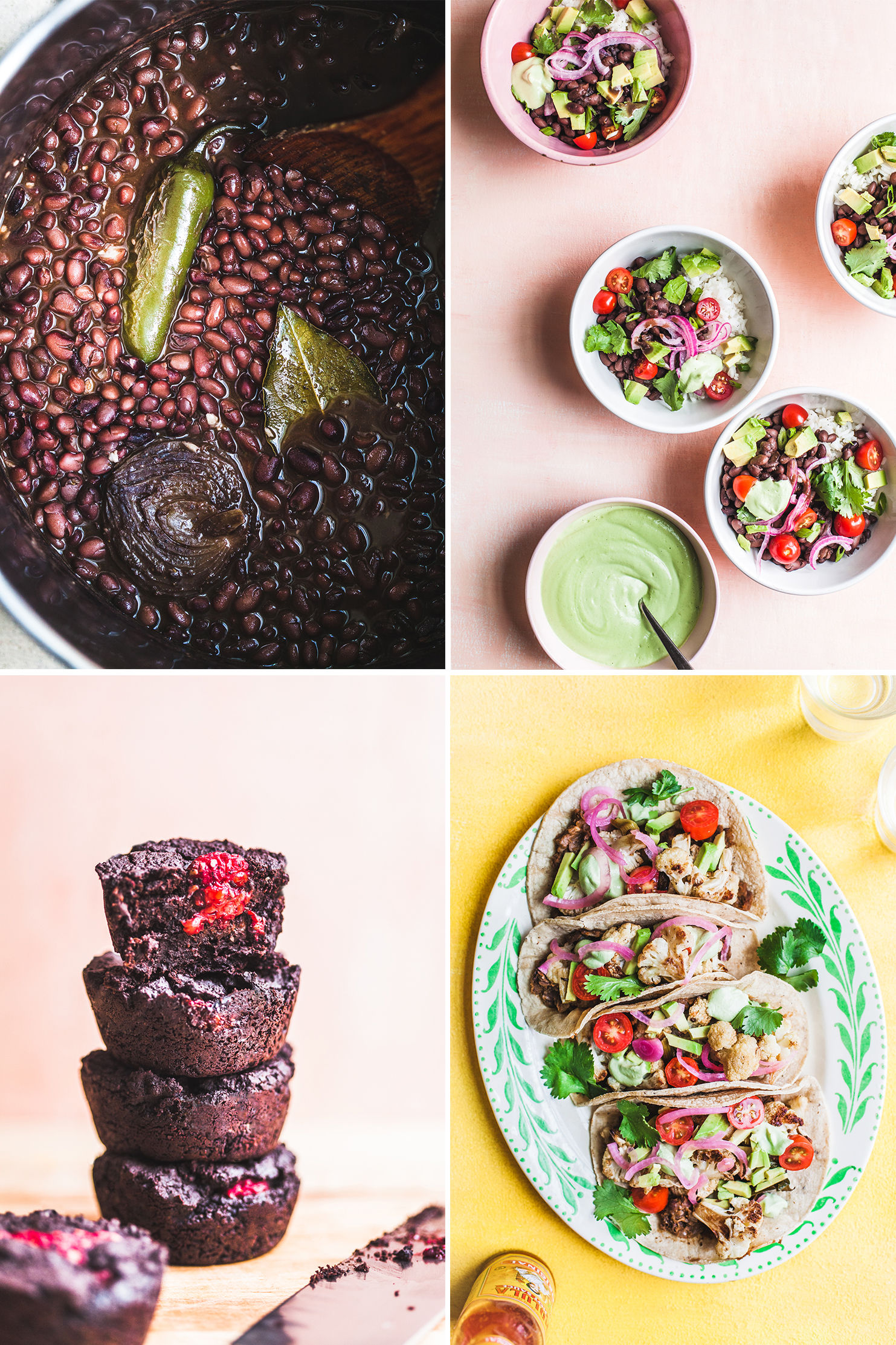 A Mini Meal Plan, Centered Around a Pot of Black Beans - Golubka Kitchen