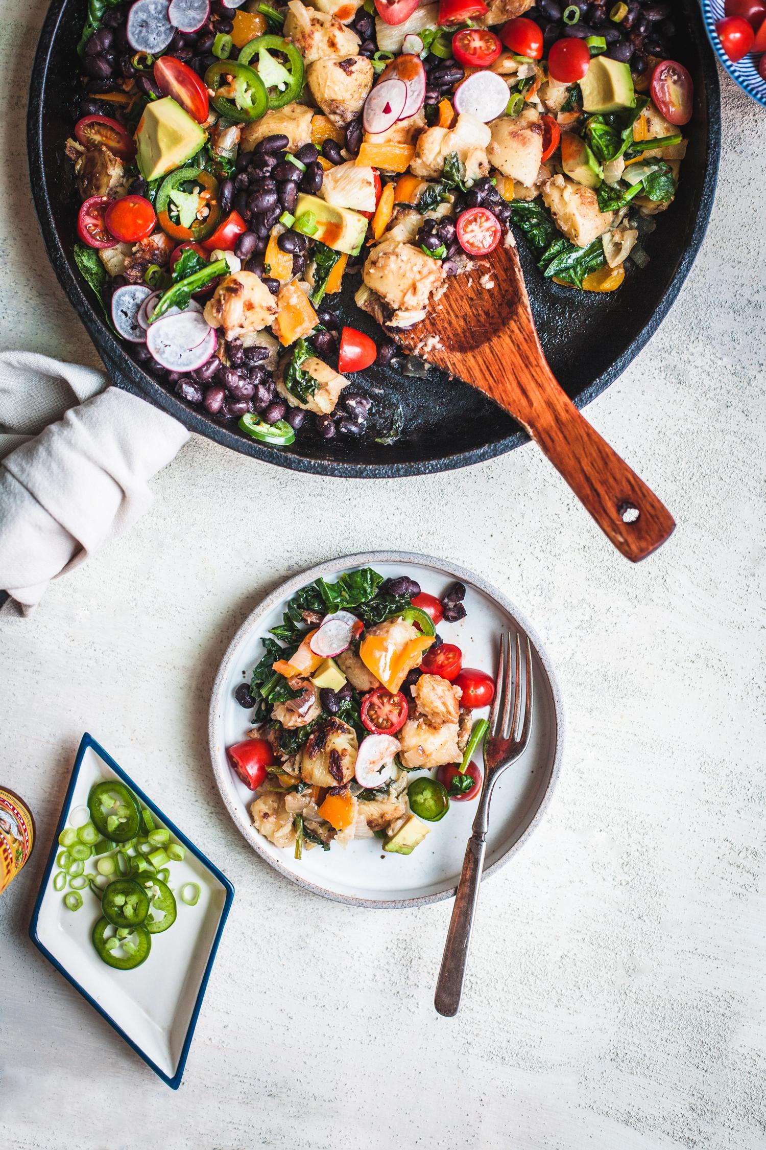 Potato Fennel Hash Skillet - Golubka Kitchen