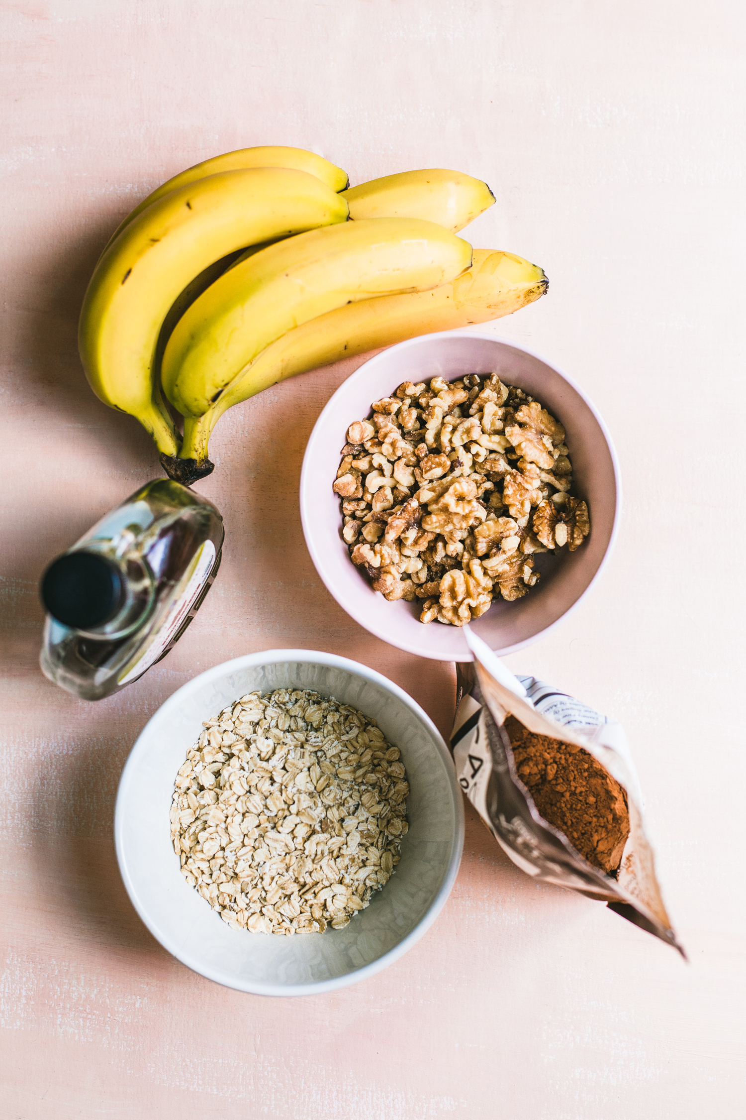 The Simplest Chocolate-Banana Granola (Oil-Free!) - Golubka Kitchen