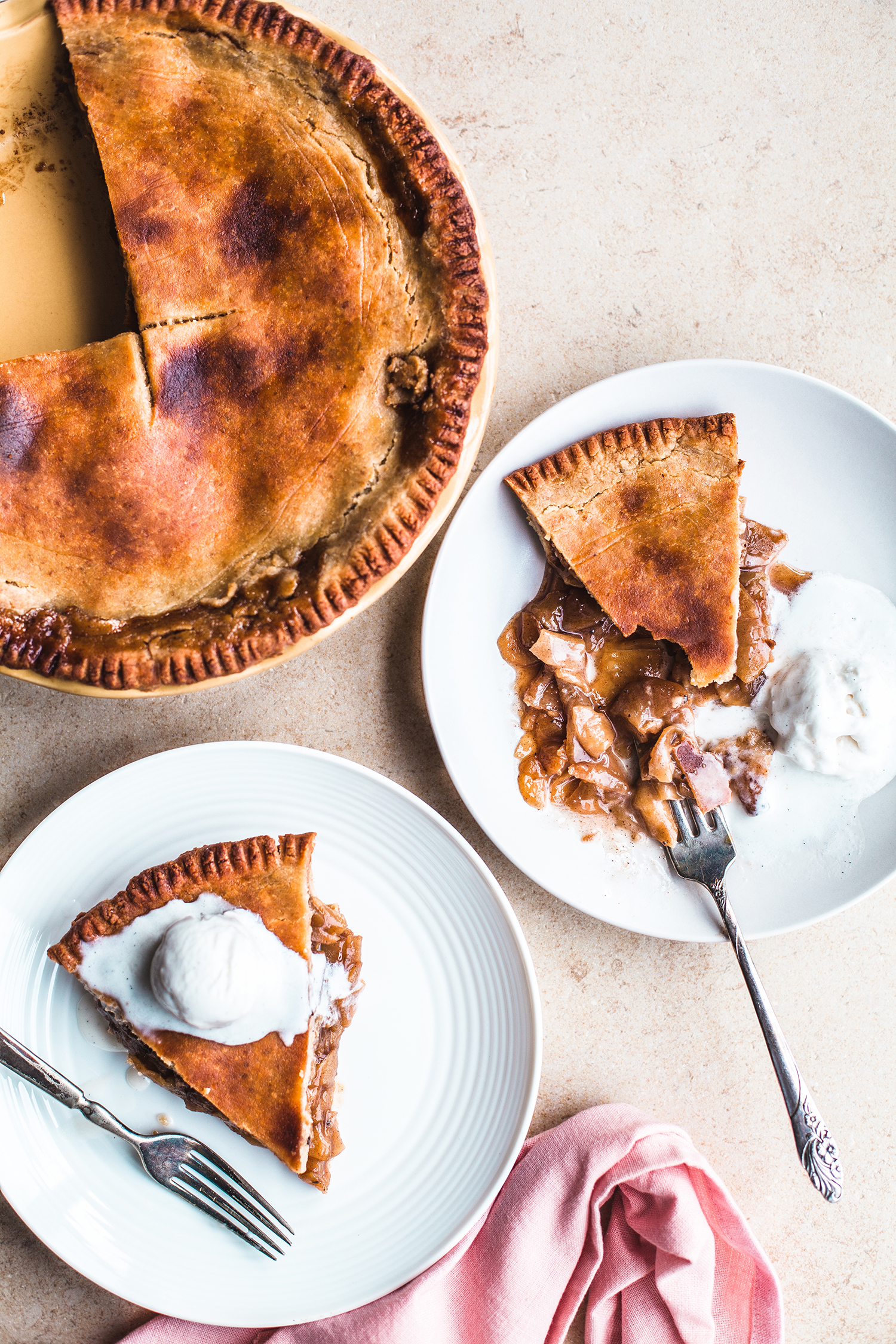 Apple Pie, Vegan and Gluten-Free - Golubka Kitchen