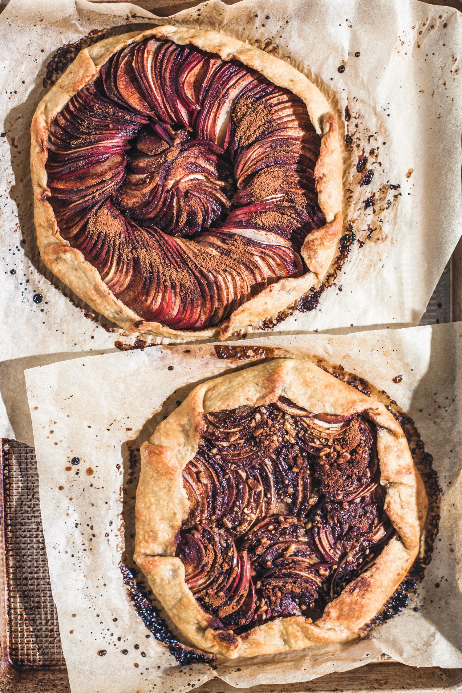 Apple Galette - Golubka Kitchen