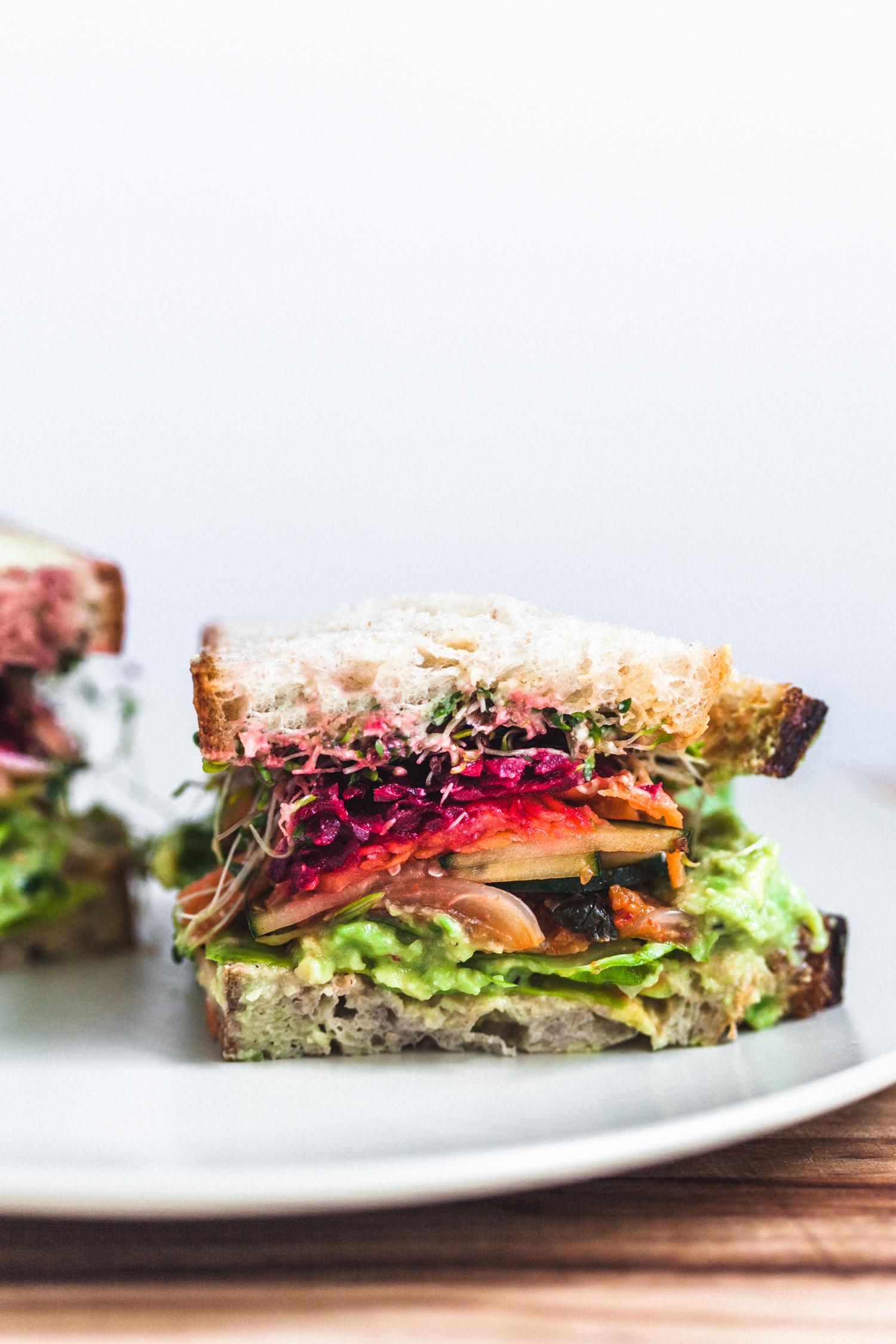 The Salad Sandwich - Golubka Kitchen